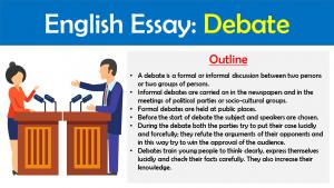 Essay about debate