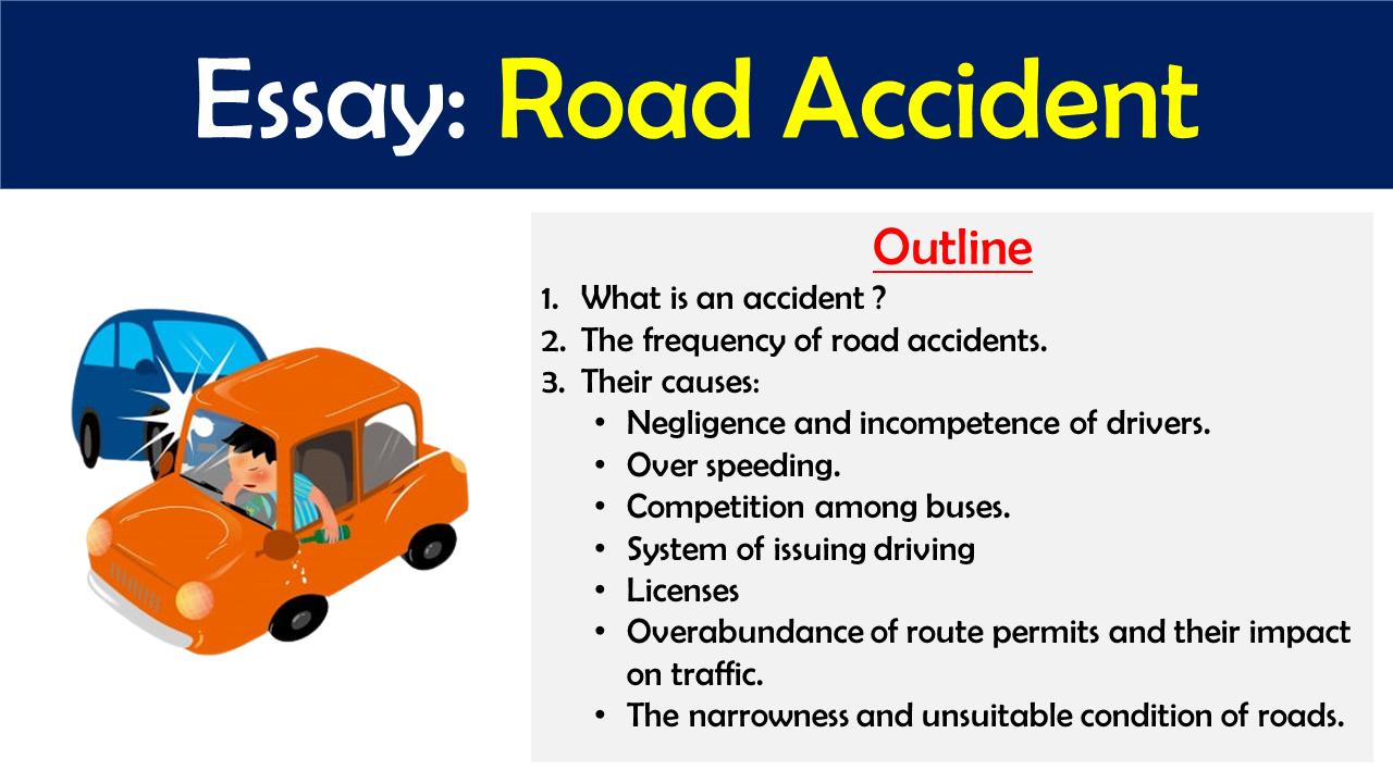 road accident essay